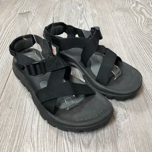 The North Face Black Hiking Sandals Men's 10